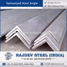 Calor / temperatura / desgaste / resistencia al desgarro Ángulo de acero galvanizado
