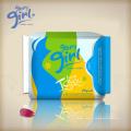 Serviettes hygiéniques menstruelles ultra-douces, non toxiques et sans javel