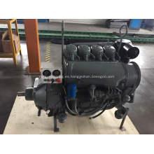 refrigerado por aire 4 cilindros F4L913 con embrague y panel de control deutz 913 motor