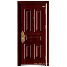 High Quality Panel Design Steel Security Door for African Market