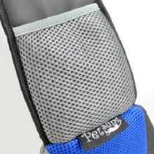 Blue PVC and Mesh Pet Sling