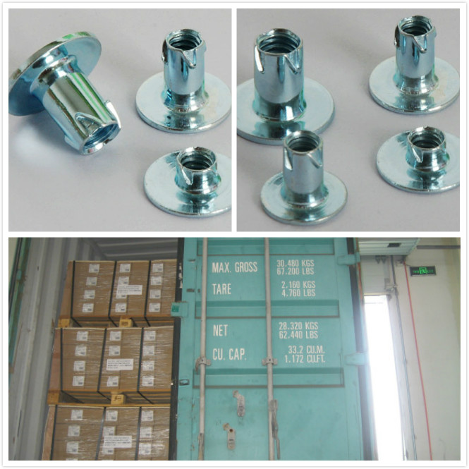 Steel propeller nut