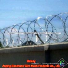 Stahldrahtrasierer Stacheldraht mit konkurrenzfähigem Preis im Speicher