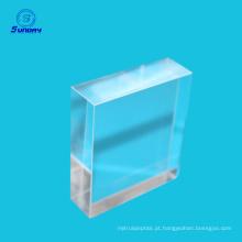 Precise N-BK7 Optical Retângulo Cube Prism