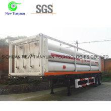 Semirremolque para contenedores de 10 tubos