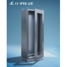 Stainless Steel Plexiglass Door Cabinet