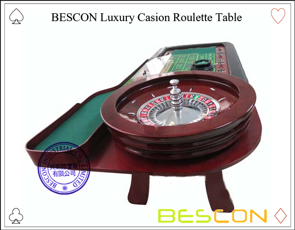 BESCON Luxury Casion Roulette Table