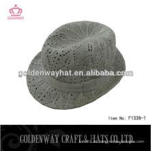 Sombreros de ganchillo de acrílico de ala corta