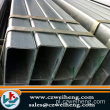 ASTM AISI Black Square Steel Pipe / Tube 201 1Cr17 ...