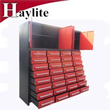 armario de cajones de almacenamiento de metal con cerradura