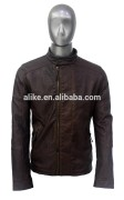 ALIKE man jacket pu jacket motocycle jacket