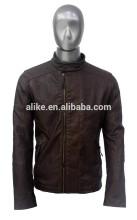 ALIKE man jacket pu jacket motocycle jacket
