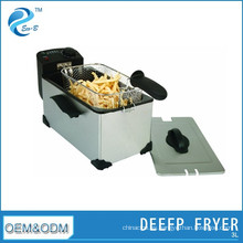 Fyer de patatas fritas de aceite eléctrico doméstico 3L