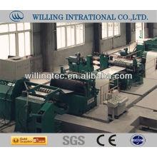 Sistema de linha de corte de aço