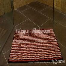 Interior doors disposable absorbent floor mat