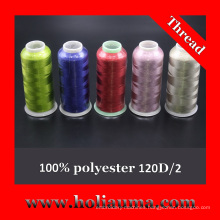High Quality 100% Polyester Embroidery Thread
