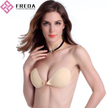 Goedkope Front Closure Adhesive Push Up Bra