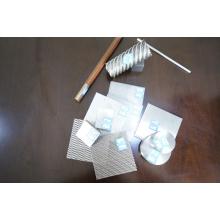 Thickness0.5mm de folha fina de titânio, titânio pequeno disco