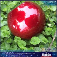 Hot Selling High Gloss Candy Red Transparent Powder Coating