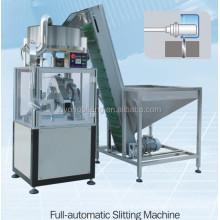 Full-Automatic High Speed Plastic Cap Slitting Machine for Cutting Caps