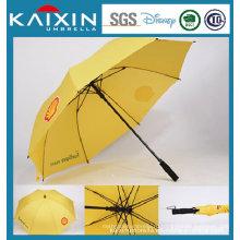 25 дюймов автоматический открытый прямой зонтик с ручкой EVA
