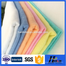 100% Cotton 150g 59'' width Woven brushed flannel clothing fabric