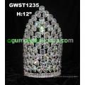 Concursante gran AB coronas de cristal y tiara