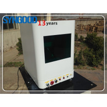 Máquina de marcação a laser de fibra SyngoodSG10F / 20F / 30F para tag de cão