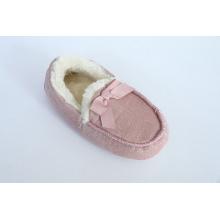 Loafer sapatos com Gross Grain Bow
