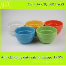 China Fábrica de suministro de alimentos seguros apilados de cerámica Bowl, Bowl de mezcla