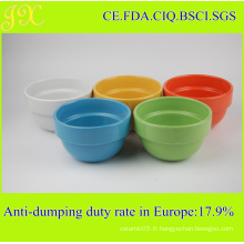 China Factory Supply Food Safe Bol en céramique empilée, bol mélangeur
