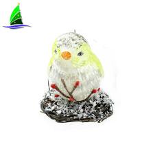 Most popular color birds pendant Christmas glass ornament