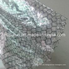Cortina de rejilla transparente de PVC ESD
