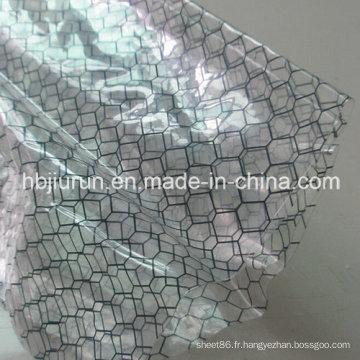 Rideau de grille transparent PVC ESD