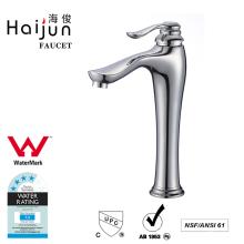 Haijun Promotional Item Deck Mounted Brass Waterfall Bathroom Basin Mixer Faucets