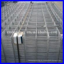 Reforzamiento de hormigón Acero soldado malla de alambre
