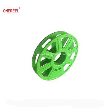 Carretes de plástico de materiales de impresión 3D baratos para filamento