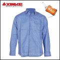 Venda grande funcional durável anti-estática de tecido chama retardante workwear camisa