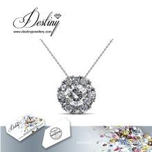 Destin bijoux cristal de Swarovski Sunshine élégant pendentif & collier