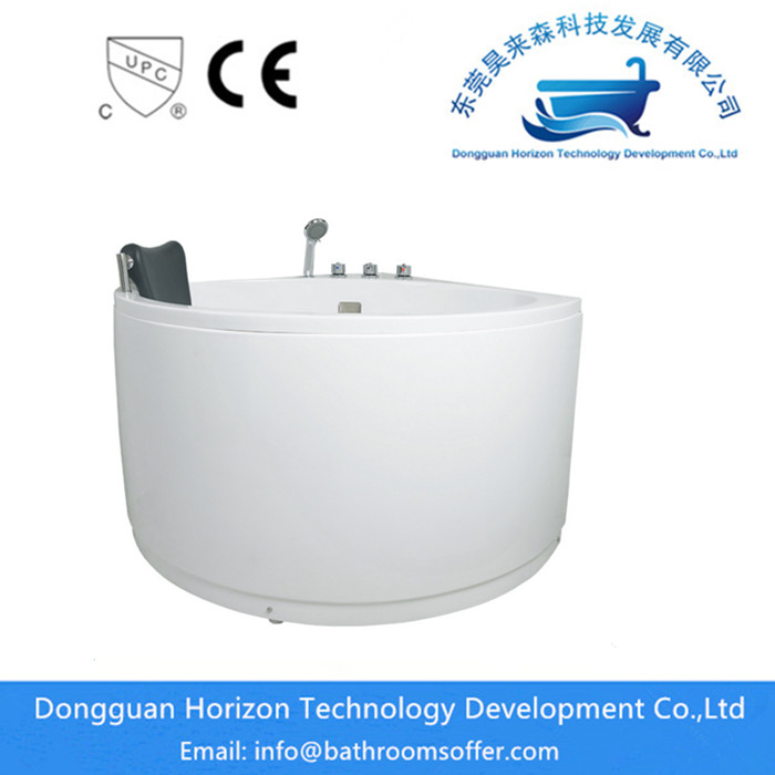 freestanding corner tub