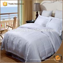 Feuillet / feuille de lit 100% coton / hôtel / drap ajusté