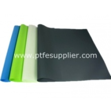 Silicone rubber gecoat polyester weefsel