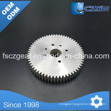 Aluminum Customized Transmission Gear Spur Gear for Various Machinery 2