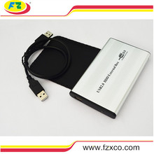 USB2.0 to 2.5 Inch IDE HDD Hard Drive Enclosure