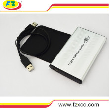 USB2.0 a 2,5 polegadas IDE HDD disco rígido recinto