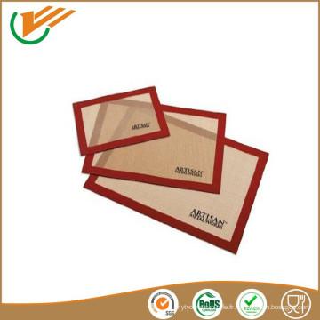 Customized Non-collante en silicone revêtu de fibre de verre revêtement en silicone