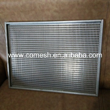 Perdurable Stainless Steel Perforated Metal Trays