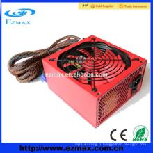 Alimentation haute efficacité 400W ATX V2.3 EPS V2.92 PSU pour ordinateur de bureau avec ventilateur de 14cm