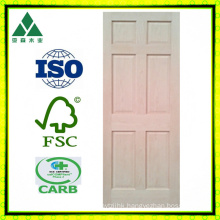 Maple, Oak, Cherry, Pine, Alder 6panel Veneer Wood Door