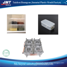 plastic injection thin wall food container mould in different shape
